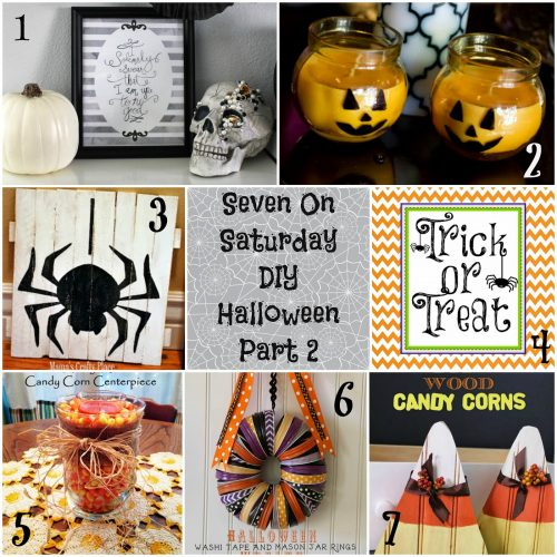 Seven on Saturday: DIY Halloween Part 2