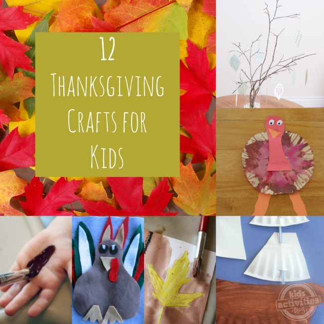 12 Thanksgiving Crafts For Kids The Taylor House
