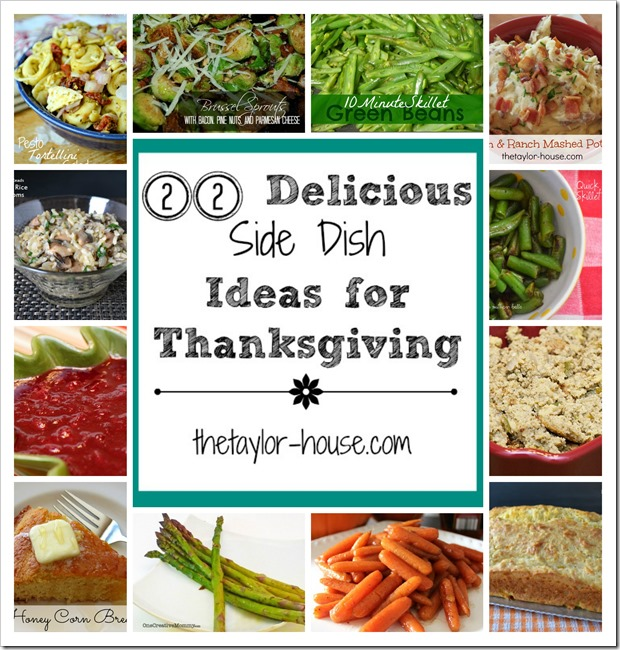 22 Delicious Side Dish Ideas to Make for Thanksgiving