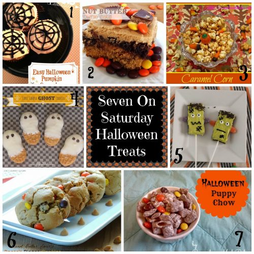 Seven on Saturday: Halloween Treats