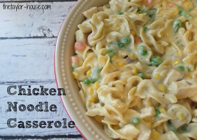 Kleenex Chicken Noodle Casserole