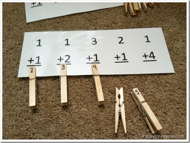 Easy Math Activity