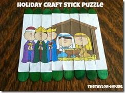 Holiday Craft Stick Puzzle Edited