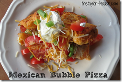 Mexican Bubble Pizza