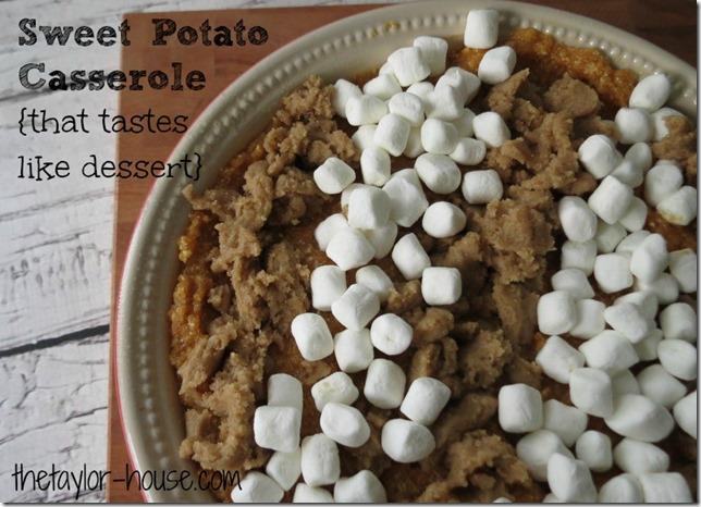 Sweet Potato Casserole, Thanksgiving Recipes