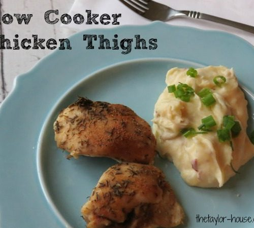 Slow Cooker Chicken Thighs Recipe