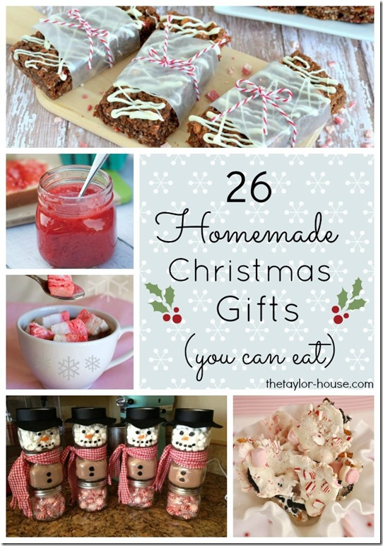Homemade Christmas Gifts Ideas.26 Edible Homemade Christmas Gift Ideas The Taylor House