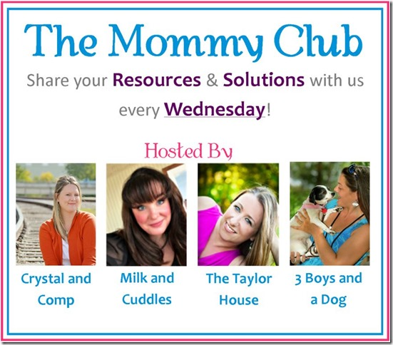 Mommy Club Resources and Solutions, Linky Party, Featured Blogger