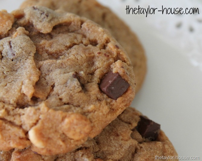 ... chocolate chunks you could use candy bar pieces or chocolate chips too