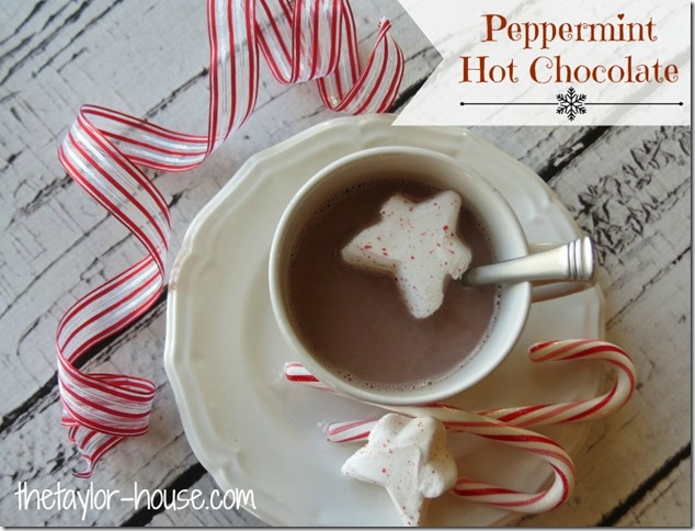 Peppermint Hot Chocolate, PEEPS Hot Cocoa