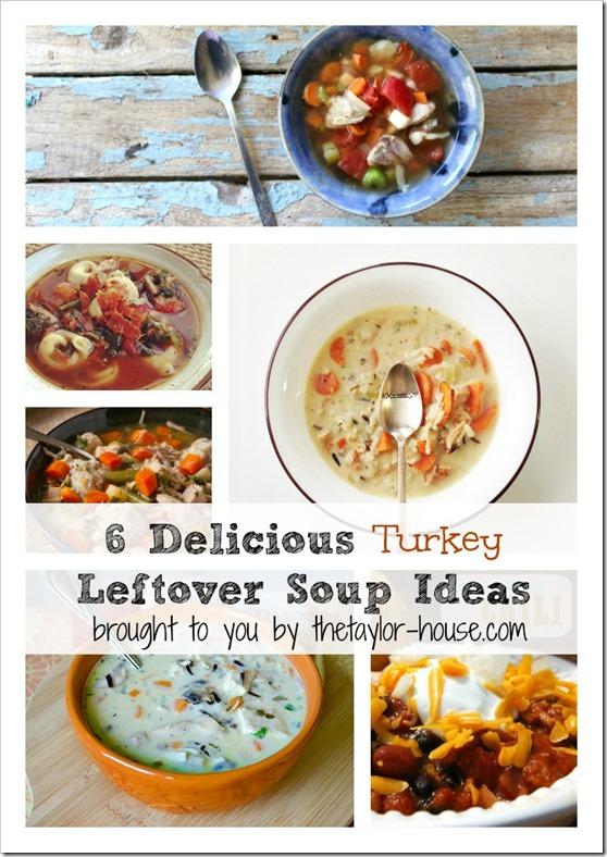 Turkey Leftover Soup Ideas