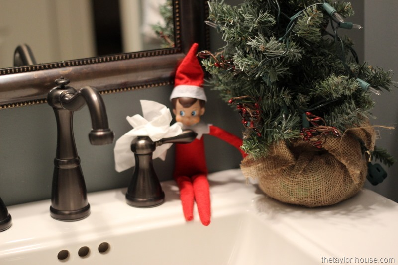 Elf On The Shelf Ideas Cleaning House The Taylor House