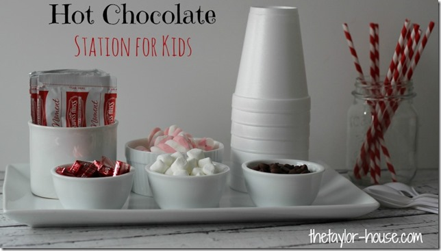 Hot Chocolate, Hot Chocolate Bar, Hot Chocolate Station, Hot Chocolate for Kids