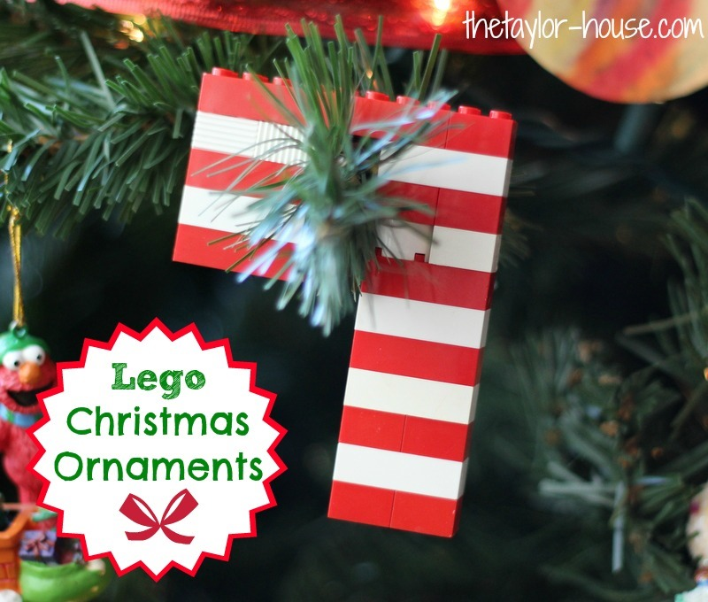 Christmas Ornaments Made With Legos The Taylor House