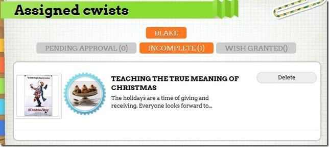 CWIST, Teaching Kids to Give Back