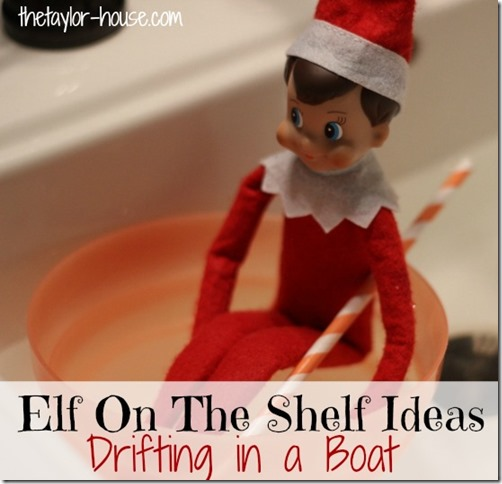 Elf On The Shelf, Elf on the shelf in a boat