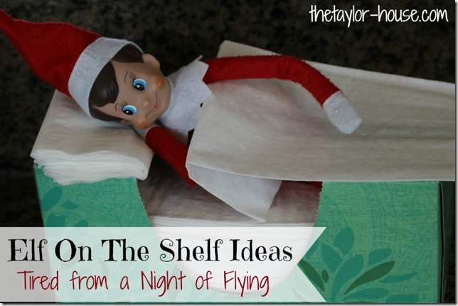 Elf on the Shelf, Elf On The Shelf Napping