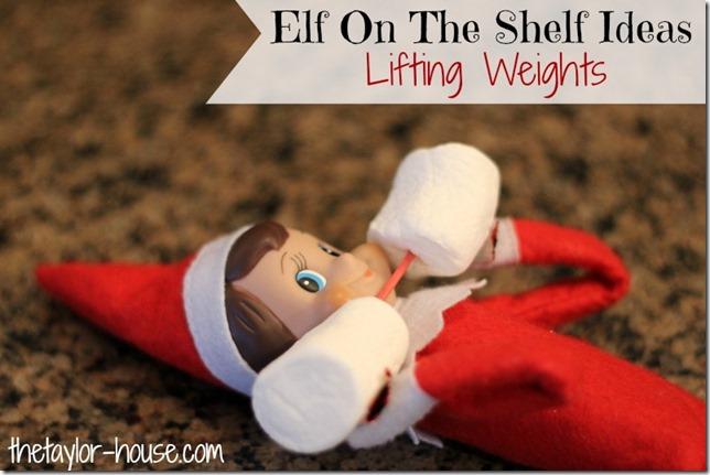 Elf On The Shelf, Elf On The Shelf Lifting Weights