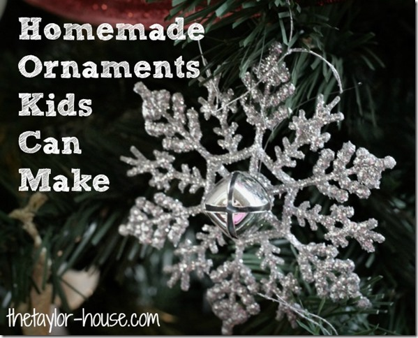 Homemade Christmas Ornaments ideas, Kids activities, Kids crafts