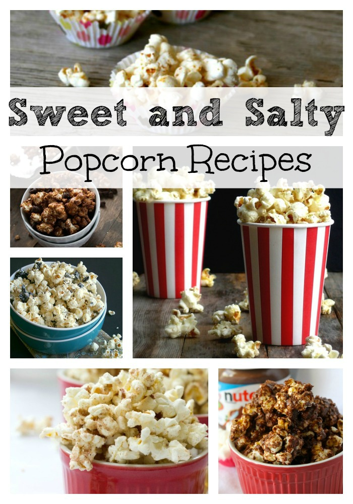 Sweet and Salty Popcorn Recipes, Popcorn Recipes