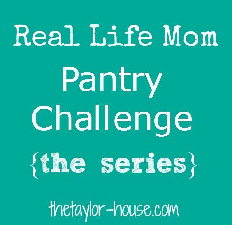 Pantry Challenge, #30DayMom