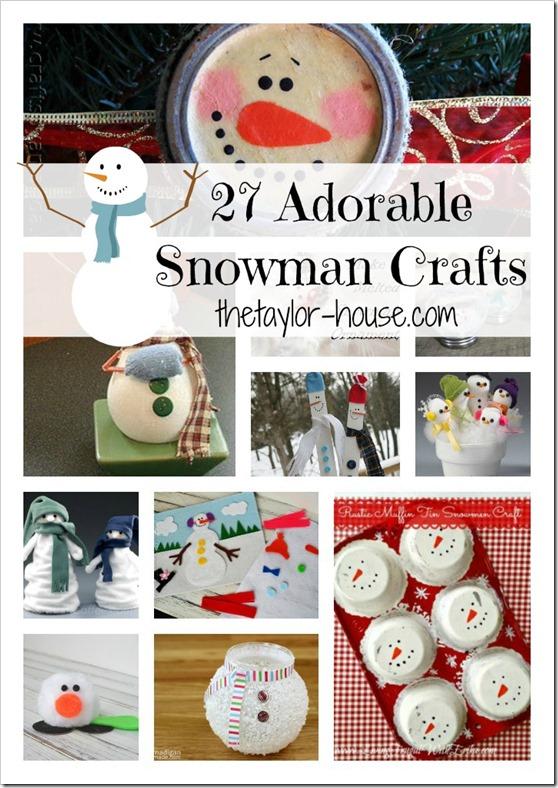 Snowman Craft Ideas, Winter Crafts, Christmas Activity
