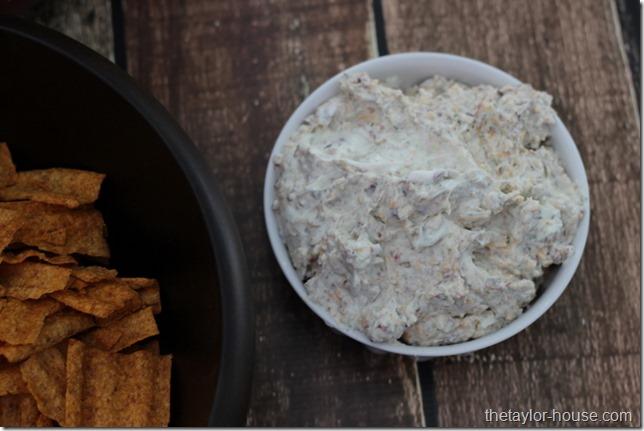 Bacon Ranch Chip Dip, SunChips, Super Bowl Appetizer