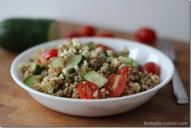 Italian Quinoa Salad, Healthy Recipes, Quinoa Recipes