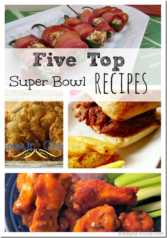 Mommy Resources and Solutions, Top Super Bowl Recipes
