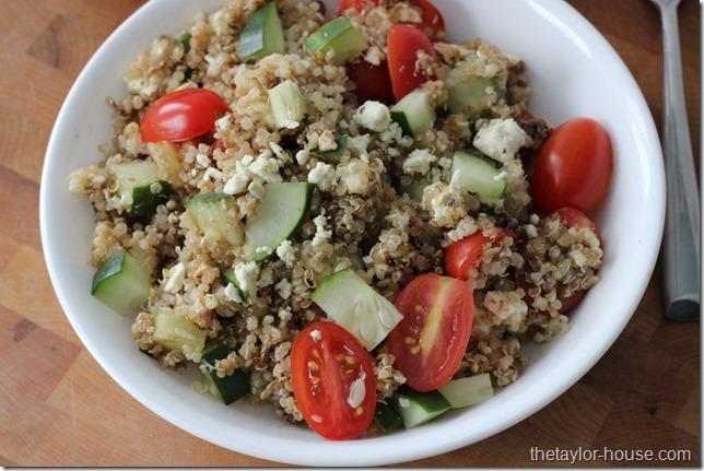 Italian Quinoa Salad, Healthy Recipes, Quinoa Recipes