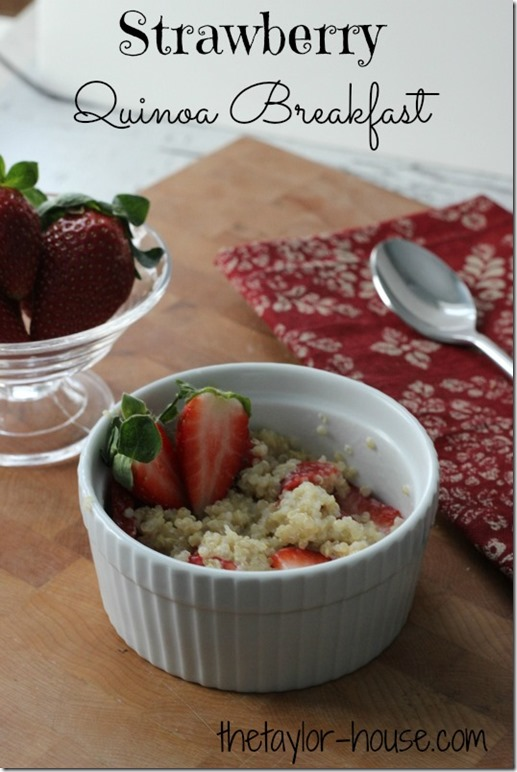 Quinoa Recipes, Strawberry Quinoa, Healthy Recipes