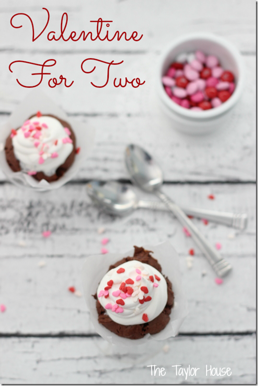 Cakes Under The Influence, Valentine Dessert For Two