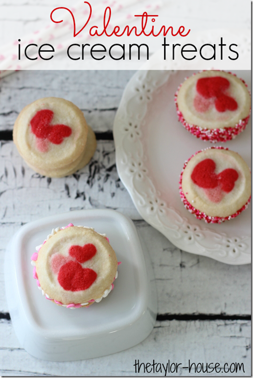 Valentine Treats, Valentine Recipes, Valentine Ice Cream Treats