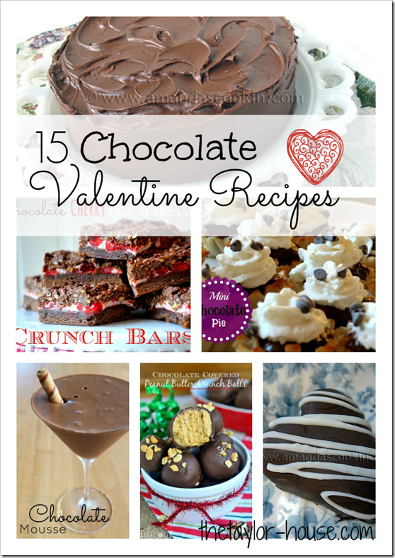 Valentine Chocolate Recipes, Valentine Desserts