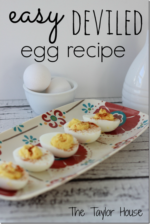 easy deviled eggs, deviled egg recipe, appetizer recipe