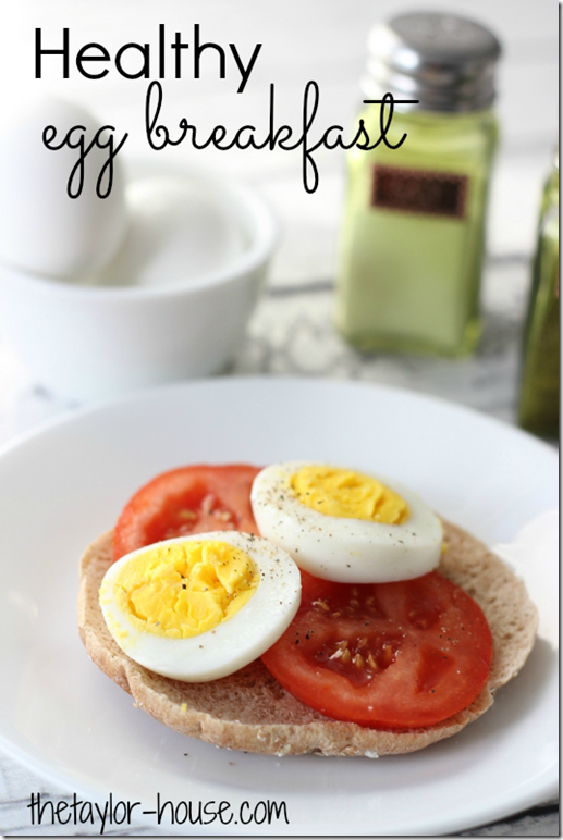 Healthy Egg Breakfast, Simple Start, Weight Watchers, Healthy Recipes