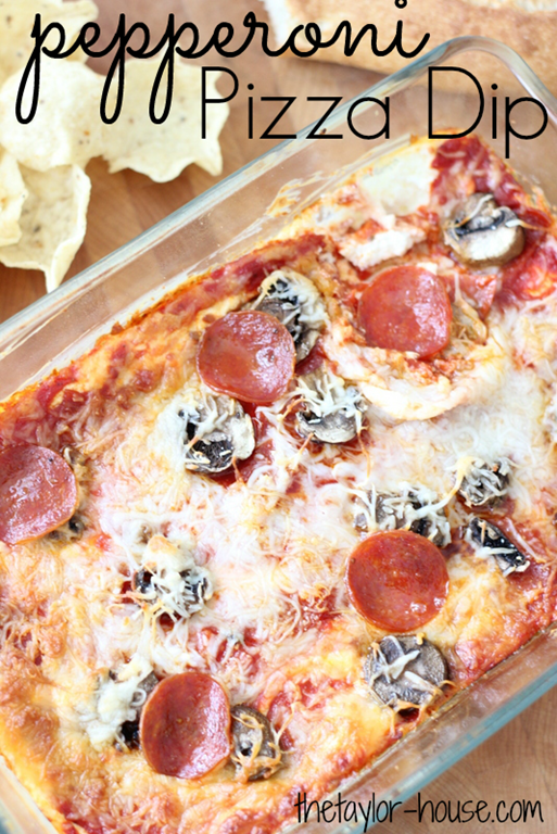 Pepperoni Pizza Dip, Pepperoni Pizza, Appetizers, Super Bowl ...