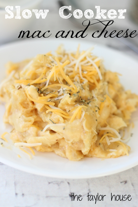 Worlds Best Comfort Foods, Slow Cooker Mac and Cheese