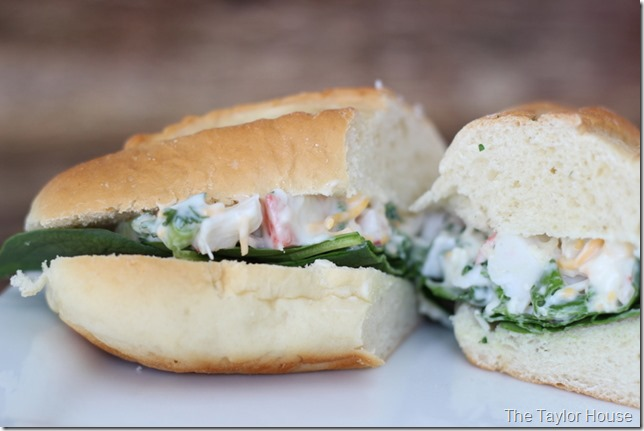 Crab Salad Sandwich - The Taylor House