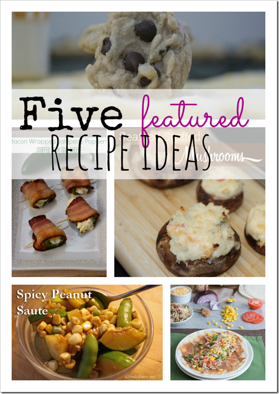 2.25.14 Featured REcipes, Mommy Resources party