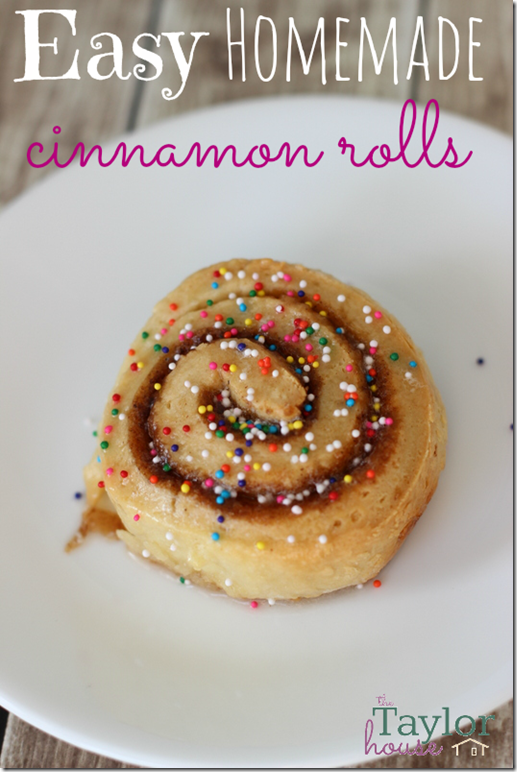 Homemade Cinnamon Rolls, Easy Homemade Cinnamon Rolls, Easy Cinnamon Rolls