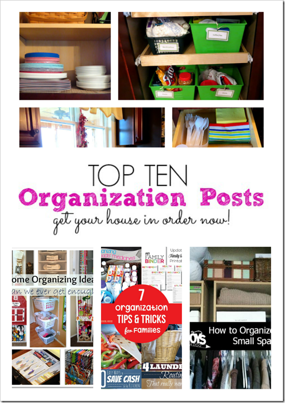Top 10 organizing ideas get your house in order the for House cleaning and organizing