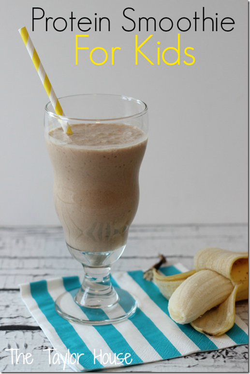 Protein Smootie For Kids, Healthy Smoothie Recipes, Cooking With Kids