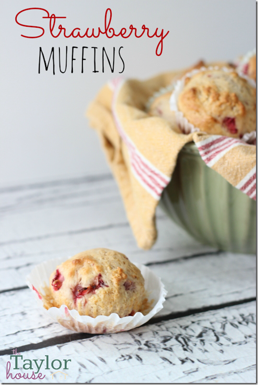 Strawberry Muffins, Breakfast Recipe, Strawberry Recipes