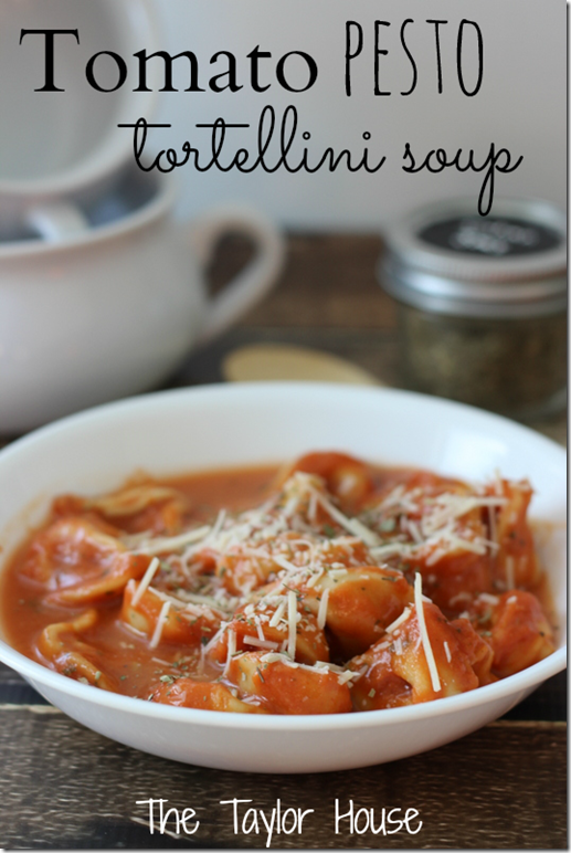 Tomato Tortellini Soup, slow cooker soup recipes, slow cooker tomato tortellini soup
