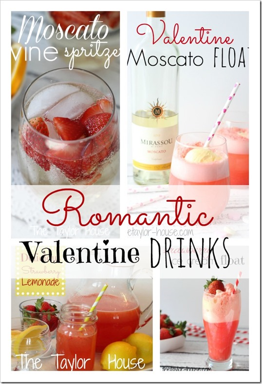 Romantic Valentine Drink Recipes, Valentine Drinks