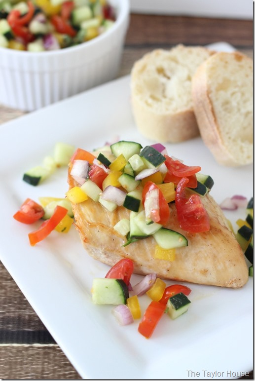 Healthy Recipes, Heart Disease, Baked Chicken, Cucumber Salsa, Mazola Cooking Oil