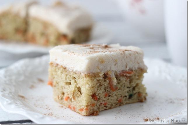 Carrot Cake, Carrot Cake Bars, Easter Desserts