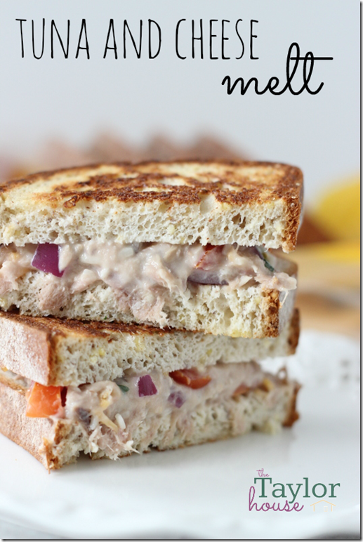 Tuna Melt, Tuna and Cheese Melt, Udi's Gluten Free, Gluten Free Bread