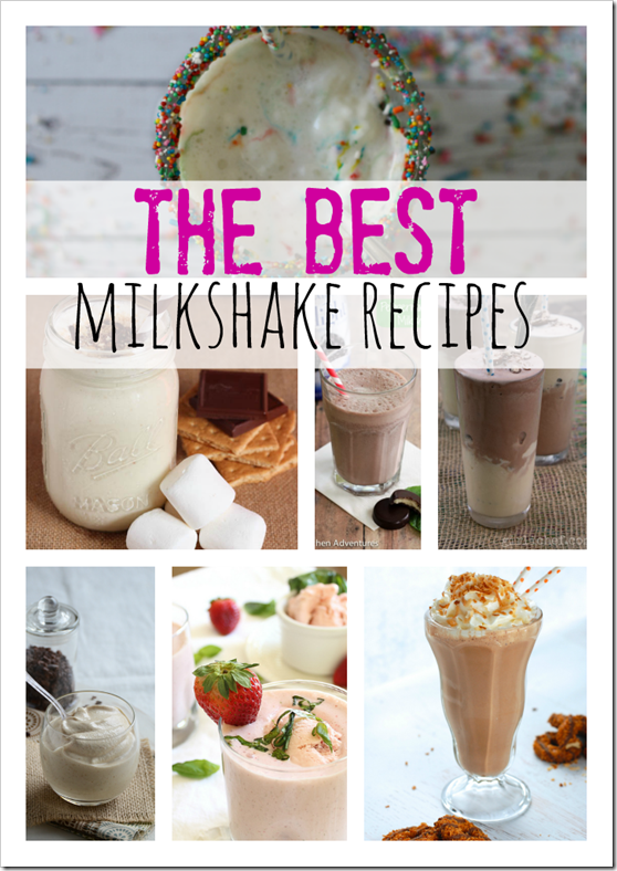 Milkshake Recipes, Best Milkshake Recipes, Milkshake Recipes for Kids
